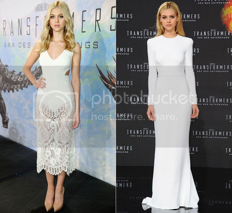 Nicola Peltz Transformers Red Carpet Fashion Style Part 2 photo nicola-peltz-stella-mccartney-dress-white-transformers_zps12ffccda.jpg