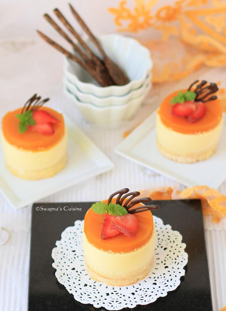 Mango Cheese Cake with cream Cheese