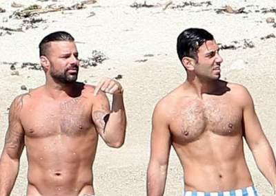 El Pequeño Traje De Baño De Ricky Martin Que Puso Locas A Sus Fans