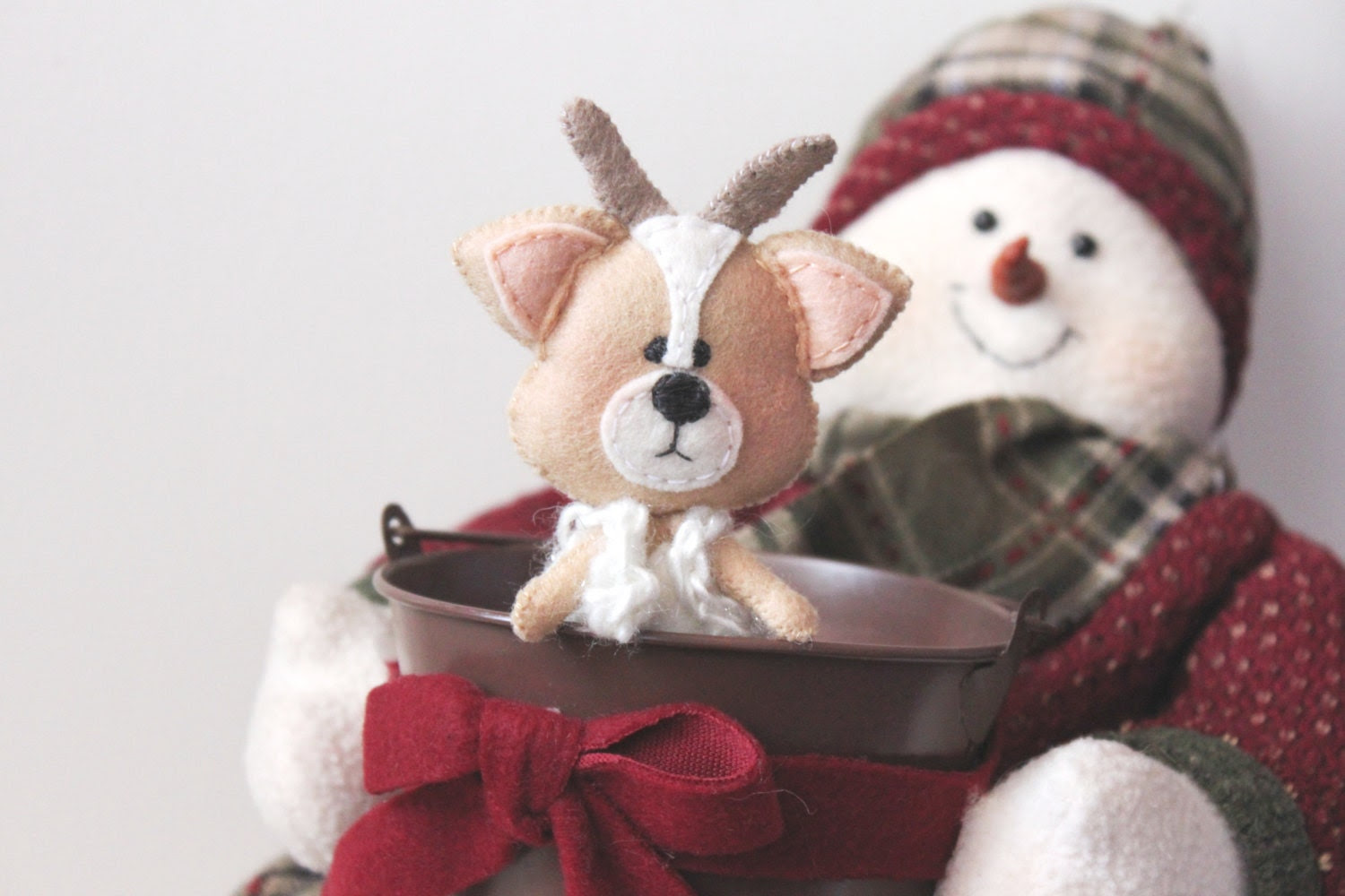 Limited Edition - Sweet Reindeer Christmas Ornament - Set of 3