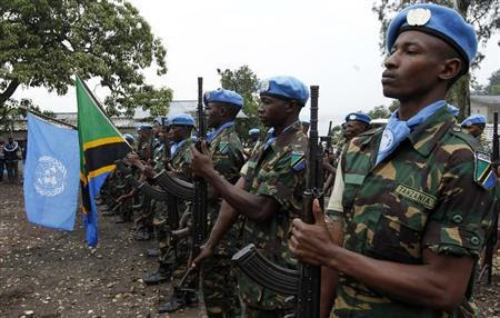 Image result for Tanzania peacekeeper