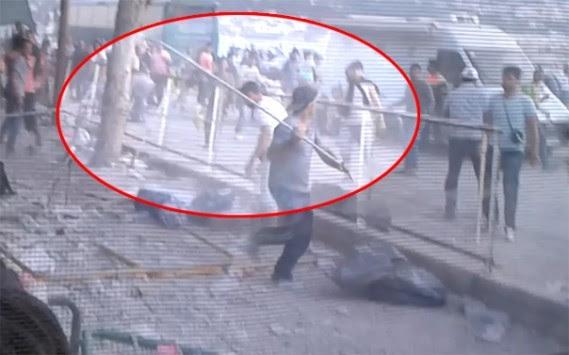 Άγριες συμπλοκές μεταξύ μεταναστών στο λιμάνι της Μυτιλήνης (ΒΙΝΤΕΟ)