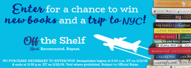 Enter for a chance to win new books and a trip to NYC!