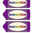 Crayon Bookmarks