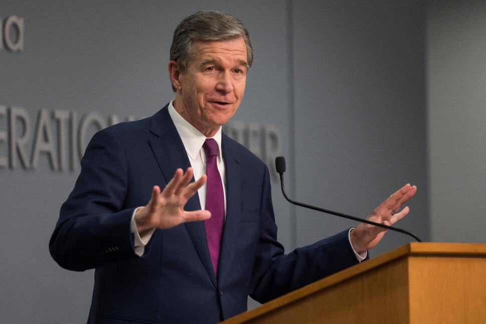 Cooper Moves to End North Carolina's Statewide Mask Mandate
