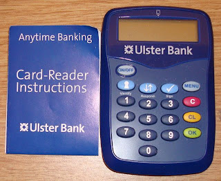 An as-yet redundant Ulster Bank card reader!