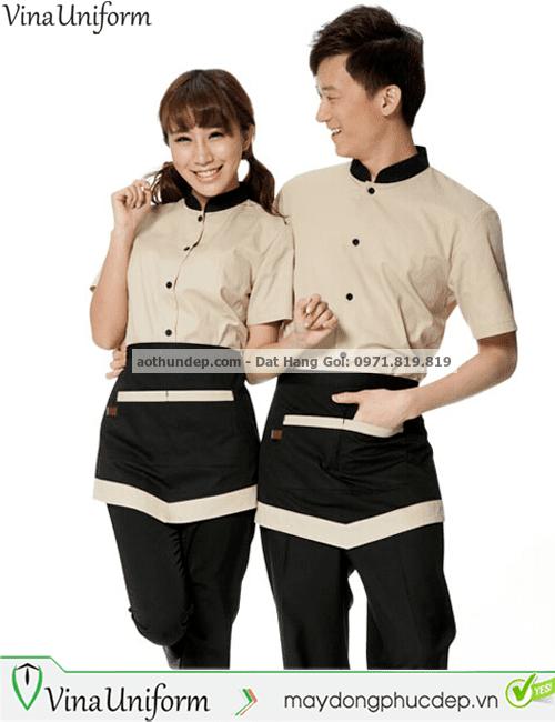 mẫu đồng phục nhà hàng đẹp