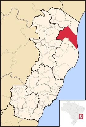 Localização de São Mateus
