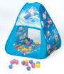 三角帳篷+100球