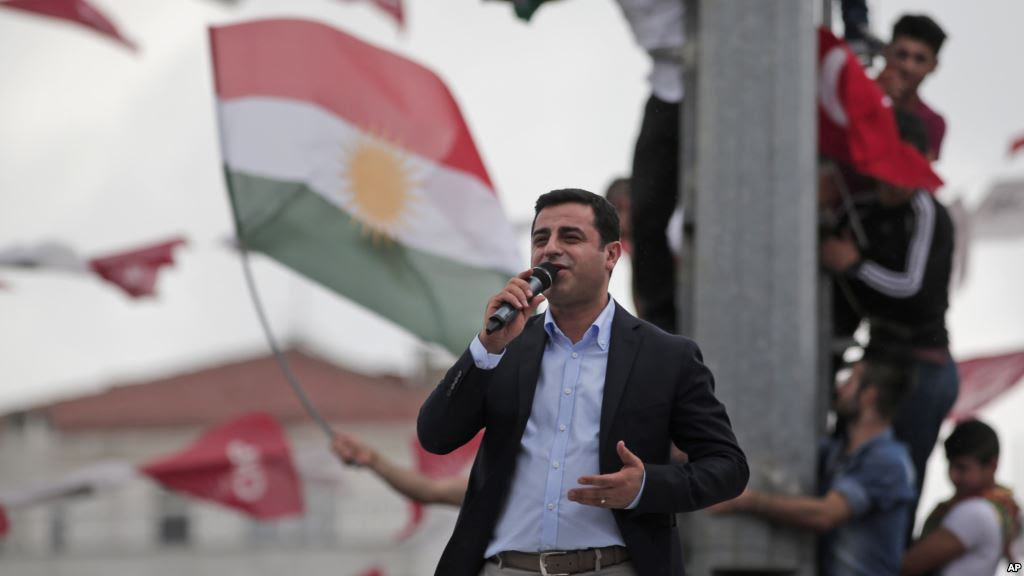 Il leader dell'hdp, Demirtas