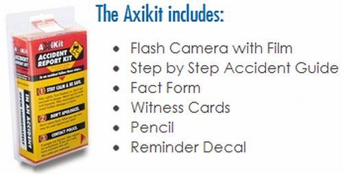 Victor Alexander Free Axikit Glove Box Accident Report Kit – Atlanta, Georgia State Only?