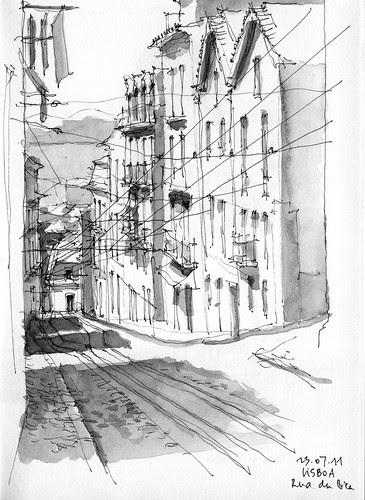 Lisbon, Rua da Bica