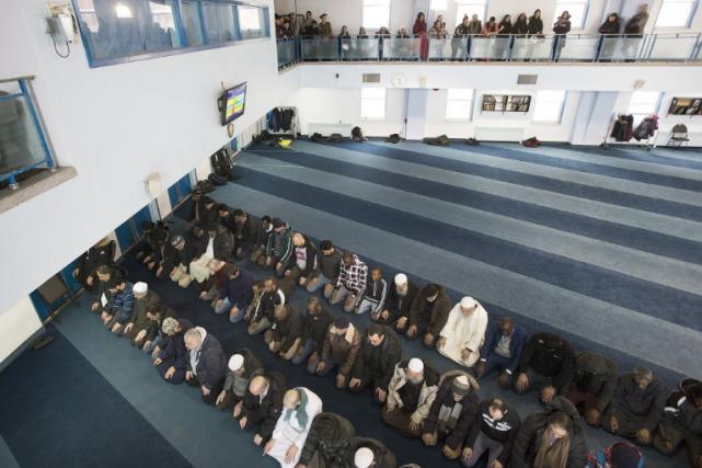 Une quinzaine de mosquées devaient participer à cet... (Photo La Presse Canadienne)