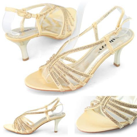 Gold Wedding Shoes Low Heel   Wedding    Wedding shoes