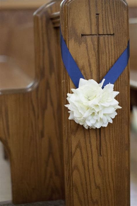 Church Pew Decorations   Ceremony   Wedding Planning