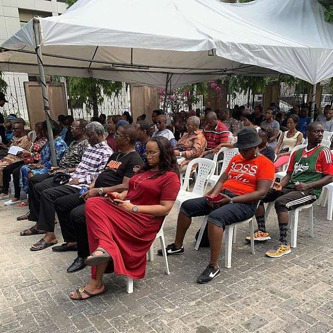 Nigeria Decides: Is This VGC Polling Unit, Lagos The Most Organized Polling Unit In Nigeria? (See Photo)