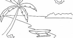 Sketsa Gambar Rumah Adat Yang Mudah