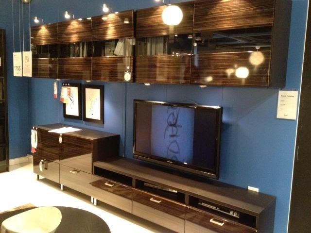 Living Room wall unit. Ikea Besta.   Living Room   Pinterest