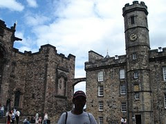 Crown Square di Edinburgh Castle, Edinburgh, Scotland, United Kingdom