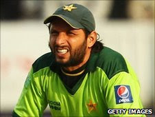 Shahid Afridi is in Pakistan's squad but has not been named as captain