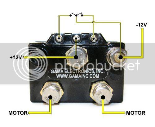 12 Volt Winch Wiring Diagram