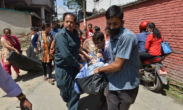 Nepal earthquake strikes near Everest just weeks after 8,000 people died