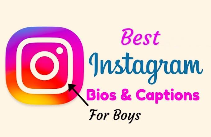 500+ Best Instagram Bio For Boys – Stylish & Creative Bio Ideas for Boys 2021