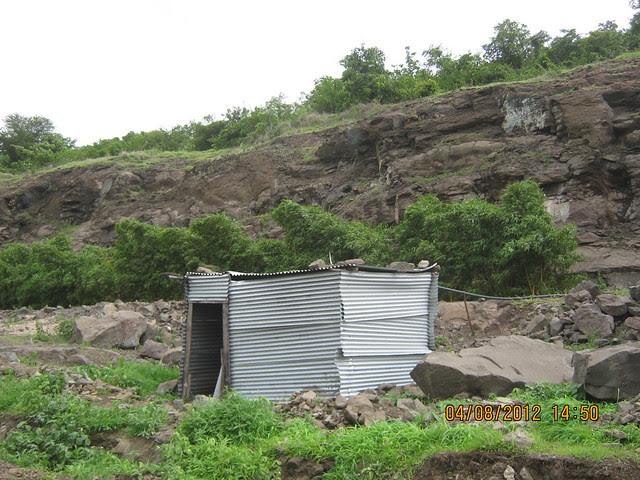 Cut, Demolished & Destroyed Hill of XRBIA Hinjewadi Pune - Nere Dattawadi, on Marunji Road, approx 7 kms from KPIT Cummins at Hinjewadi IT Park - 89