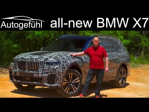 The all new BMW X7 is bigger than X5 and better than Q7?