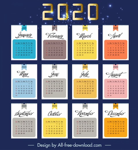 Calendar 2020 Ai
