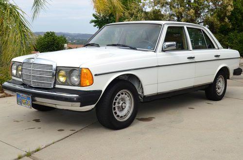 Buy used 1982 Mercedes-Benz 300D Turbo Diesel in Westlake ...