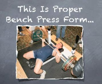 bench press  weight  proper technique lee