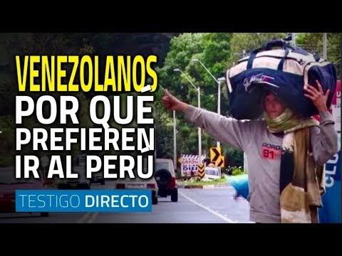 Miles de venezolanos llegan a Perú. ¿Por qué escogen este país?