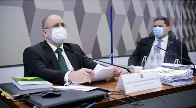 Comissão do Senado aprova recondução de Augusto Aras à PGR