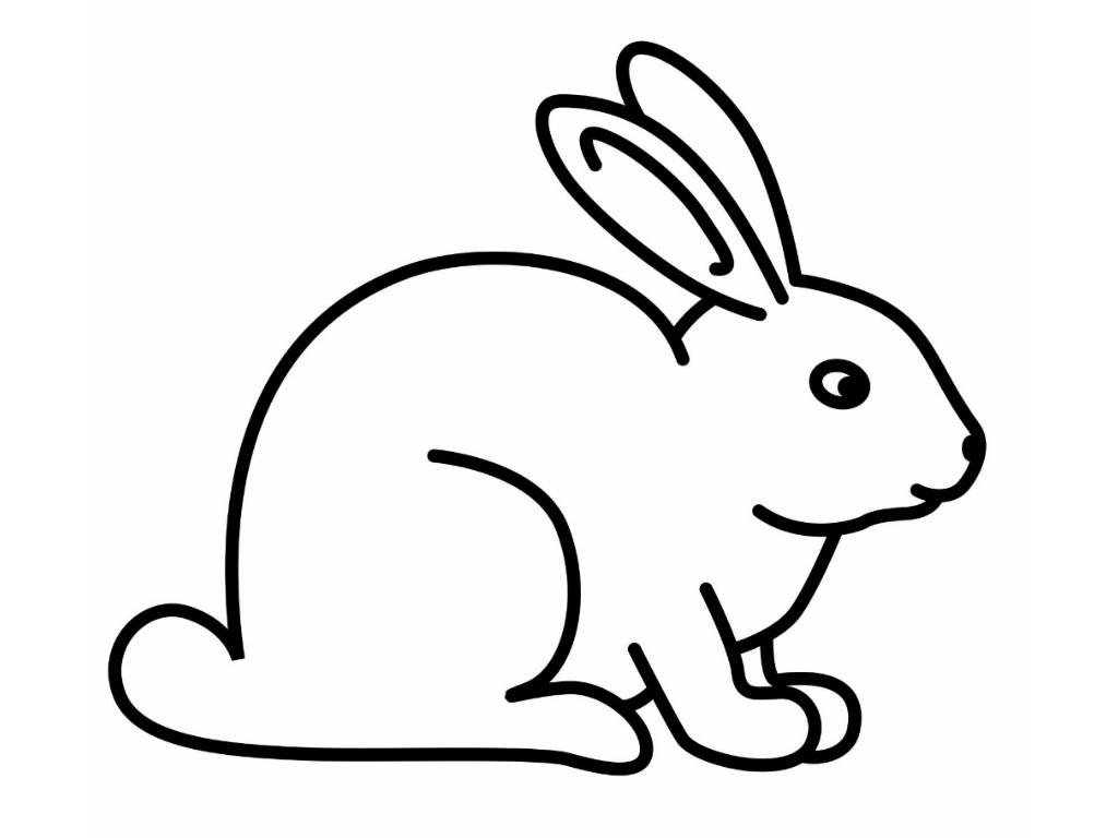 128 Dibujos De Conejos Para Colorear Oh Kids Page 1