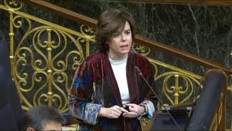 La vicepresidenta espanyola, Soraya Sáenz de Santamaría