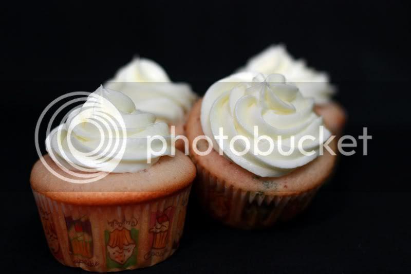 Strawberry Basil Lemonade Cupcakes, Runs with Spatulas