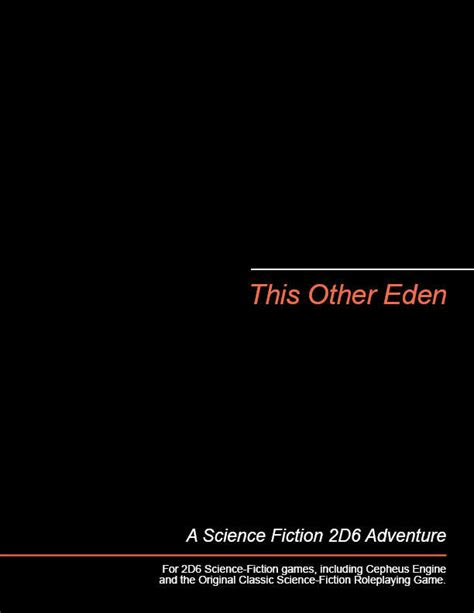 This Other Eden - Michael Brown | 2D6 SF Adventures