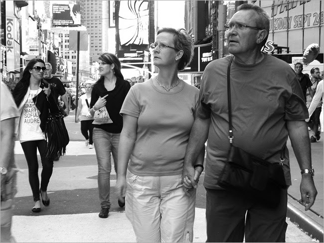 Bewildered, Times Square