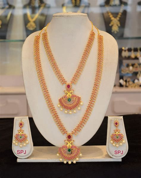 Indian Wedding Jewellery Sets   Long Necklace Collections