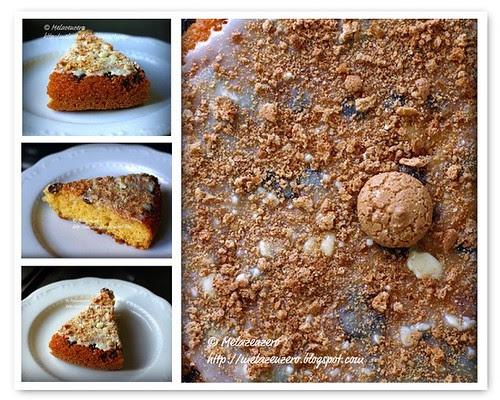 torta frutta secca amaretti cioccolato bianco