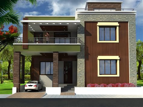 simple house front view design homes floor plans designs