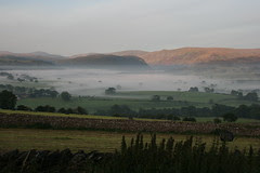 Misty view to High Street