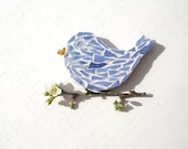 Blue Bird Magnet - MarysPoshDoggieDiner