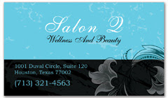 BCS-1009 - salon business card