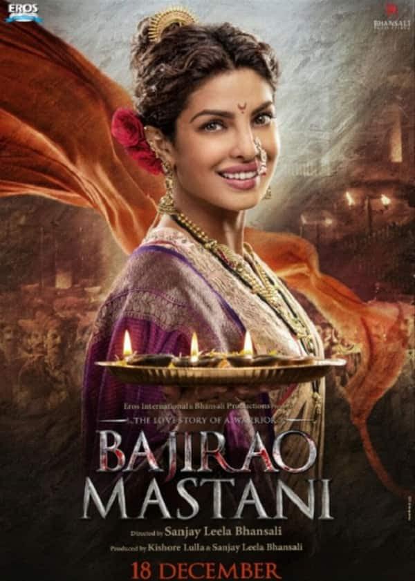 Bajirao Mastani's Kashibai poster: Priyanka Chopra's Nauvari look will LIGHT up yourDiwali!