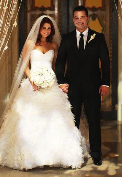 Joanna Garcia   The Best Celebrity Wedding Dresses
