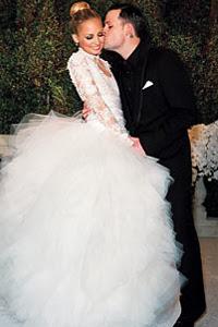 Nicole Richie's Wedding Hair and Makeup Look