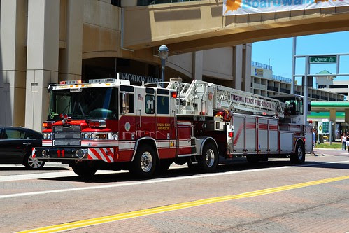 Virginia Beach Fire Station #11 Ladder Truck by Tobyotter