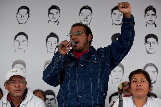 Vidulfo Rosales, abogado de los padres de los 43. Foto: Octavio Gómez